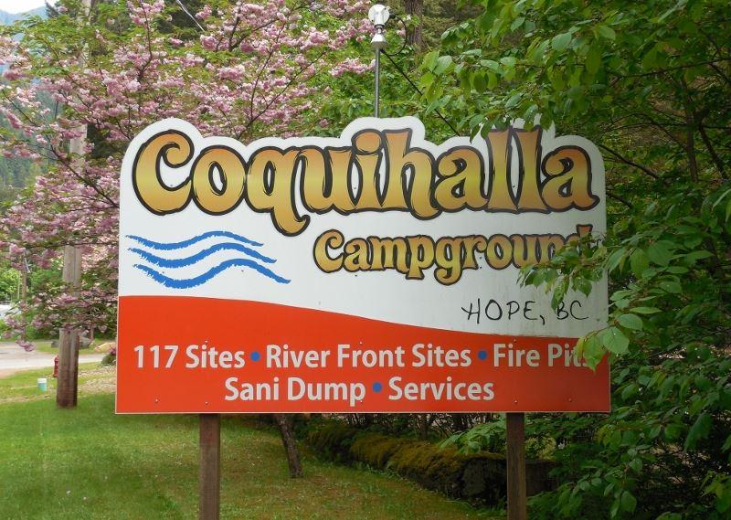 Coquihalla Campground logo