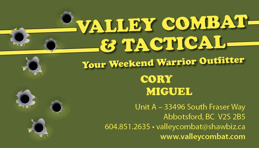 Valley Combat & Tactical logo