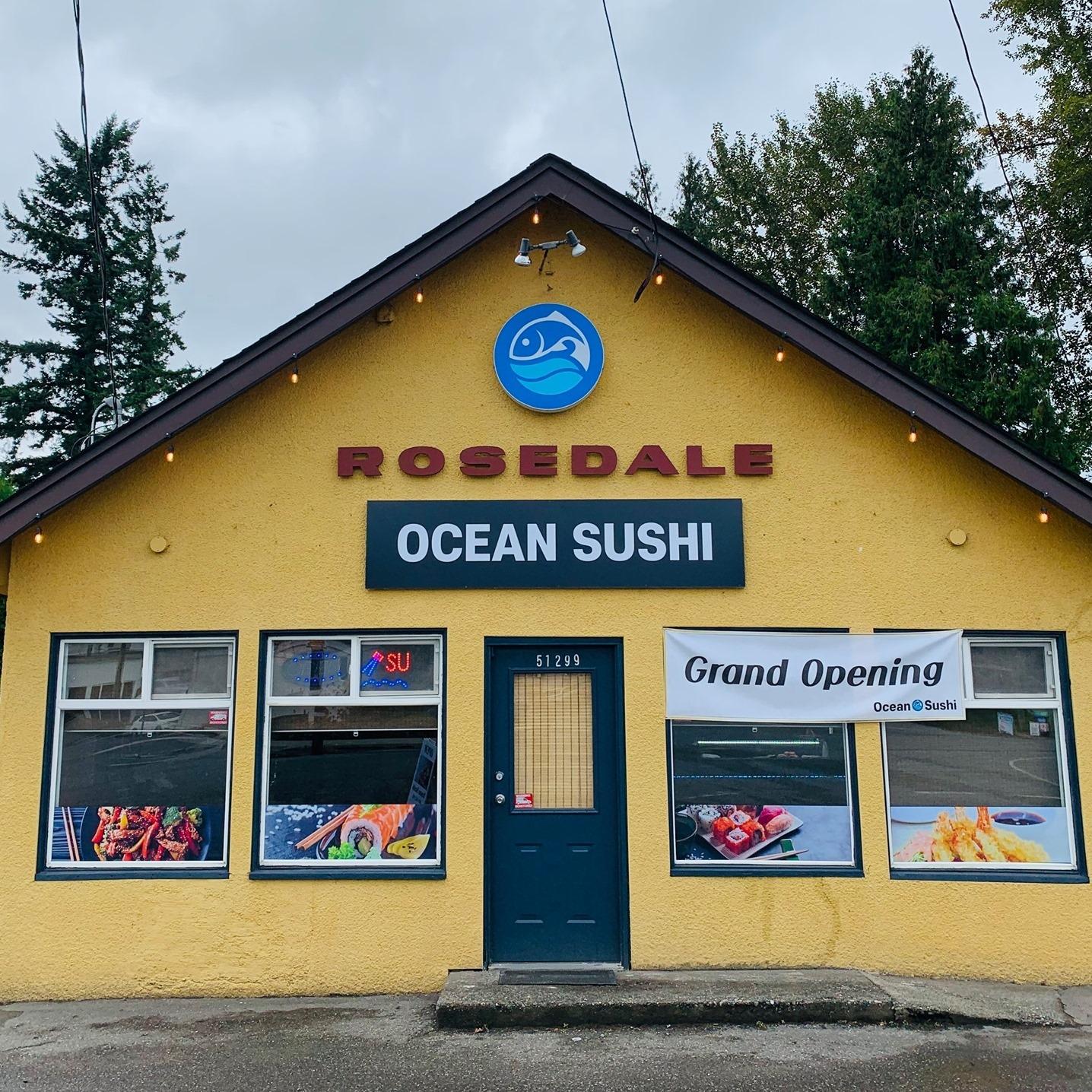 Ocean Sushi logo