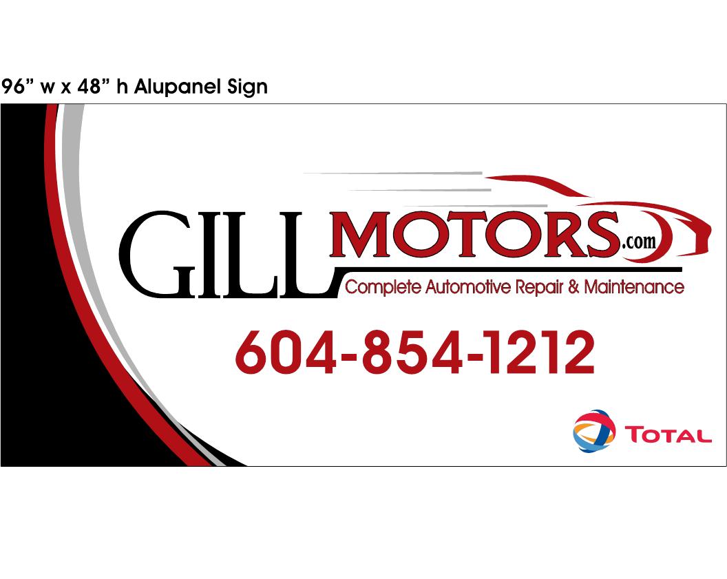 Gill Motors logo