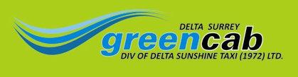 Delta Surrey Green Cab logo