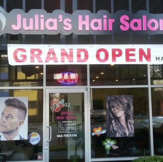 Julia's Hair Salon logo