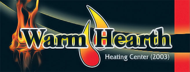 Warm Hearth Heating Center logo