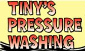 Tiny's Pressure Washing logo