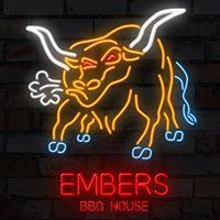 Embers BBQ House logo