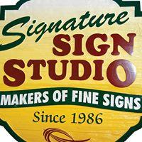 Signature Sign Studio logo