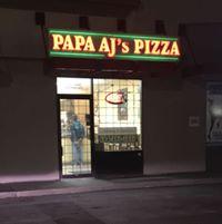 Papa AJ's Pizza logo