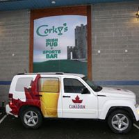 Corky's Irish Pub logo