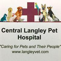 Central Langley Pet Hospital logo