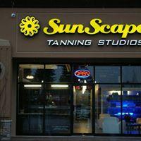SunScape Tanning Studios logo