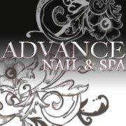 Advance Nail & Spa logo