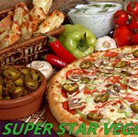 Super Star Veggie Pizza logo