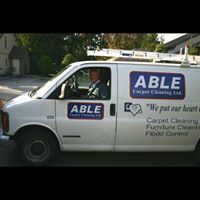 Able Carpet Care logo
