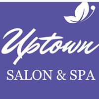 Uptown Salon & Spa logo