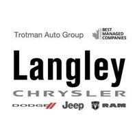 Langley Chrysler logo