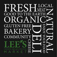 Lee's Market logo