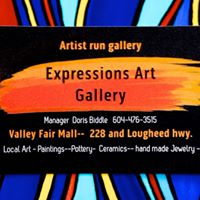 Expressions Art Gallery logo