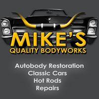 Mike's Quality Bodyworks & Refinishing logo