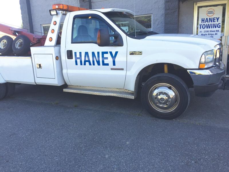 Haney Towing logo