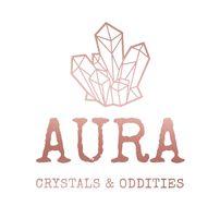 AURA Crystals & Oddities logo