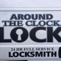 Around The Clock Lock logo