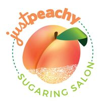 Just Peachy Sugaring Salon logo