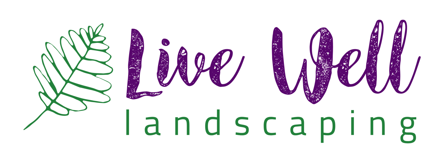 Live Well Landscaping logo