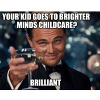 Brighter Minds Child Care Centre logo