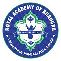 Royal Academy of Bhangra logo