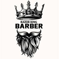 Razor King Barber House & Hair Salon logo