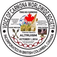 Voice Of Carmona Worldwide Society logo