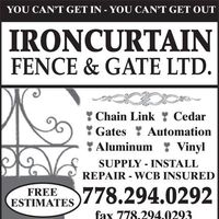 Iron Curtain Fence & Gate Ltd logo