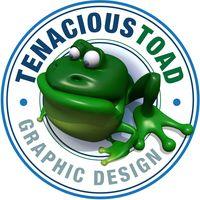Tenacious Toad Graphic Design logo