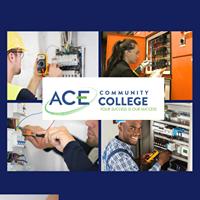 Ace Community College logo