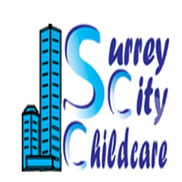Surrey city childcare logo