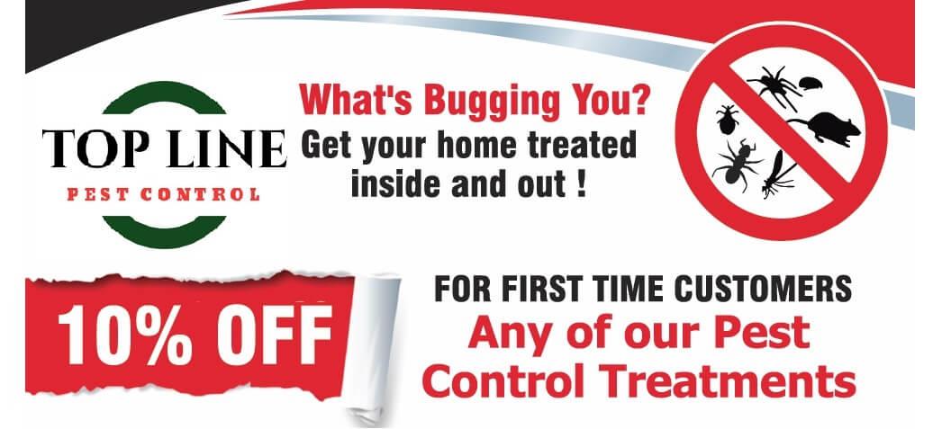 Top Line Pest Control logo