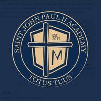 St John Paul II Academy logo