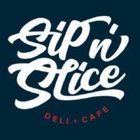 Sip N' Slice Deli & Cafe logo