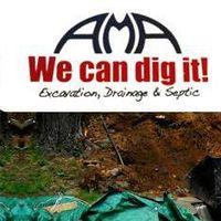 AMA Excavation Drainage & Septic logo