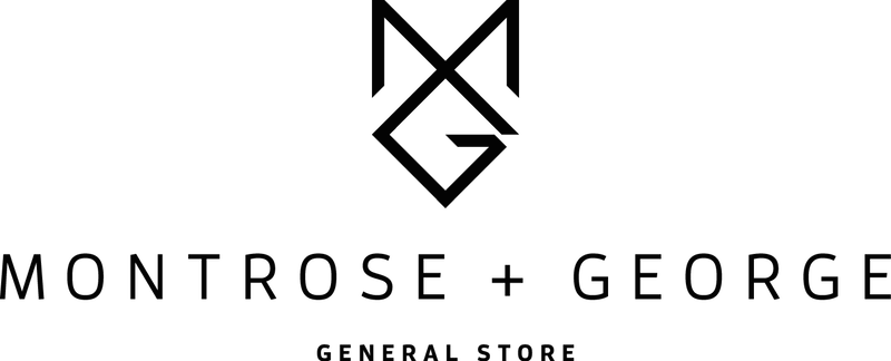 Montrose + George General Store logo