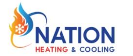 Nation Heating & Cooling logo