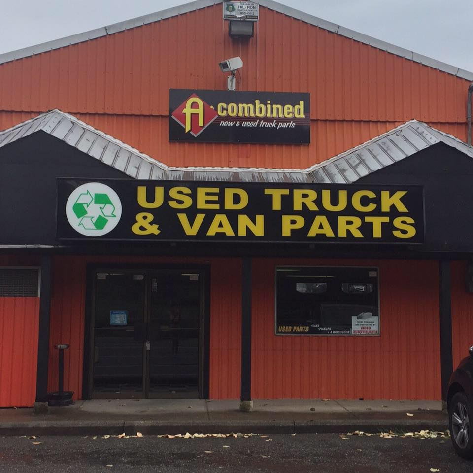 A-Combined Used Truck Parts logo