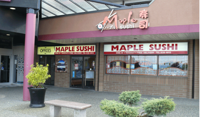 Maple Sushi Restaurant logo