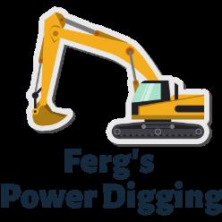 Ferg's Power Digging logo