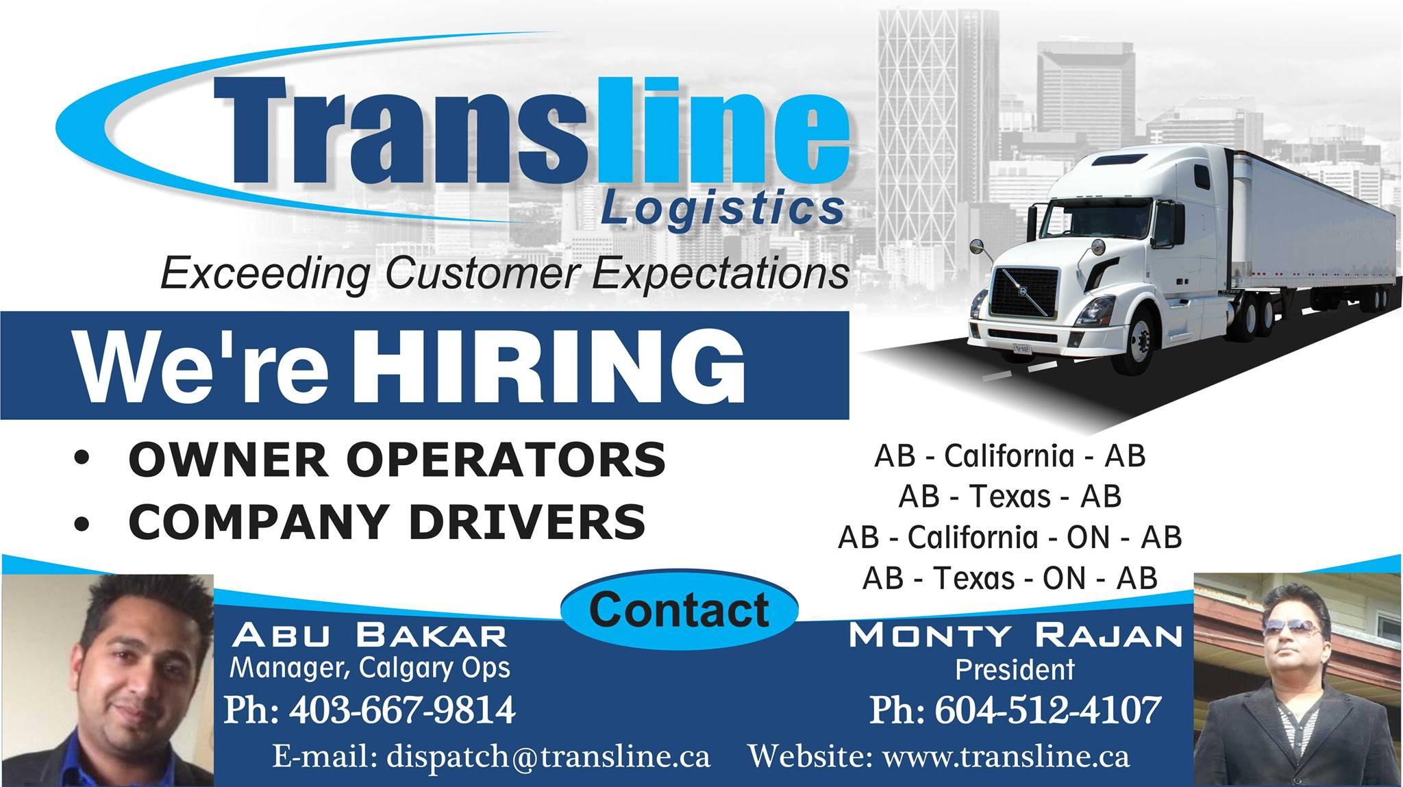 Transline Logistics logo