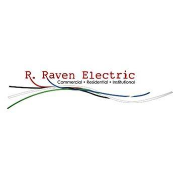 R Raven Electric logo