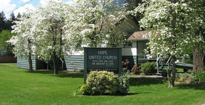 Hope United Church logo