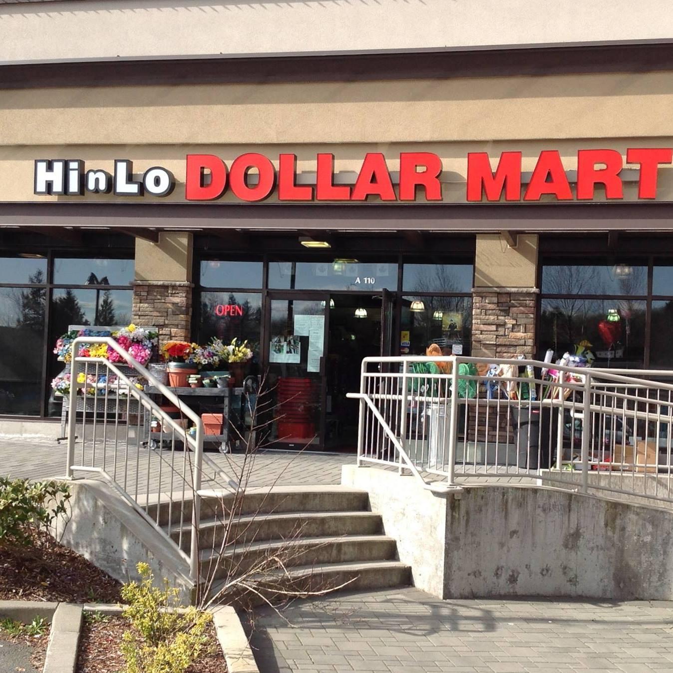 Hi N Lo Dollar Mart logo