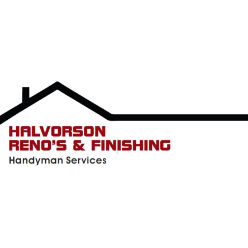 Halvorson Reno's and Finishing logo