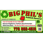 Big Phil's Rubbish Removal logo